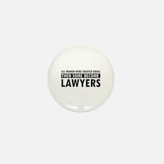 Lawyer design Mini Button