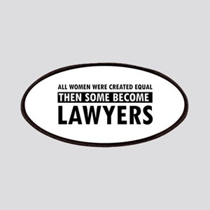 Lawyer design Patches