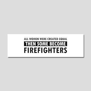 Firefighter design Car Magnet 10 x 3
