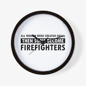 Firefighter design Wall Clock