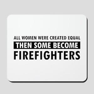 Firefighter design Mousepad