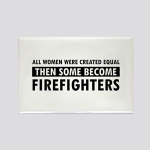 Firefighter design Rectangle Magnet