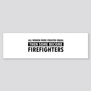 Firefighter design Sticker (Bumper)