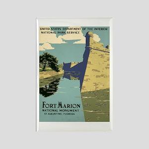 Fort Marion National Monument Rectangle Magnet