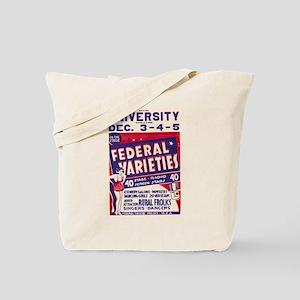 Federal Varieties WPA Poster Tote Bag