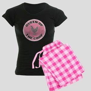 Queen Of The Coop Women's Dark Pajamas
