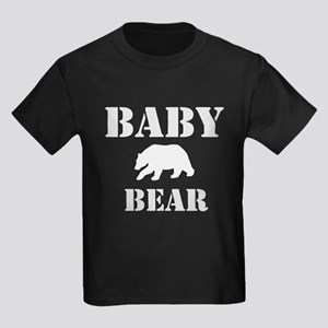 Papa Mama Baby Bear Kids Dark T-Shirt