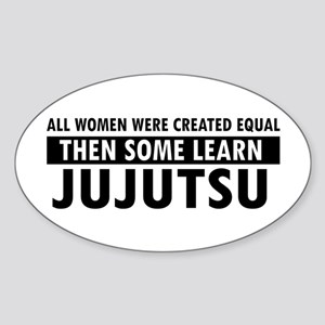 Jujutsu design Sticker (Oval)
