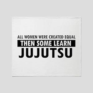 Jujutsu design Throw Blanket