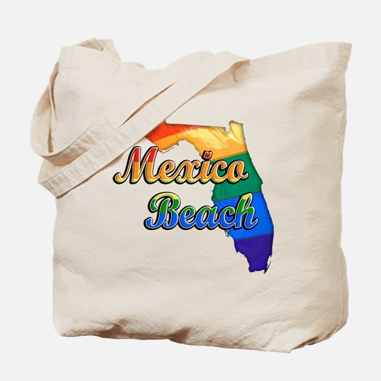 Mexico Beach, Florida, Gay Pride, Tote Bag