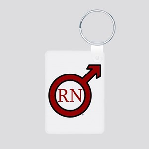 RN Man ABEZ 2006 Aluminum Photo Keychain