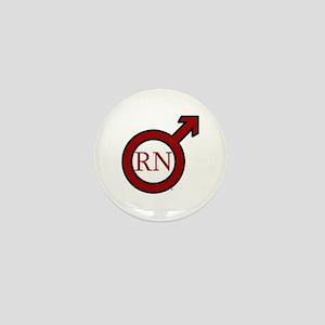 RN Man Mini Button