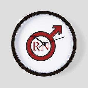 RN Man Wall Clock