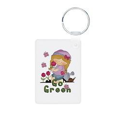 Go Green Garden Keychains