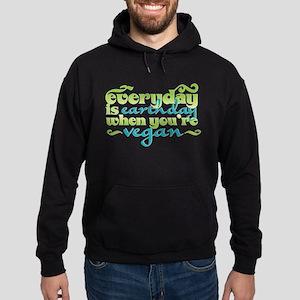 Vegan Earth Day Hoodie (dark)
