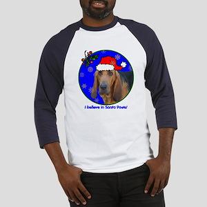 SANTA PAWS Bloodhound Baseball Jersey
