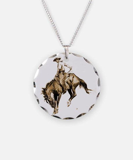 Best Seller Wild West Necklace Circle Charm