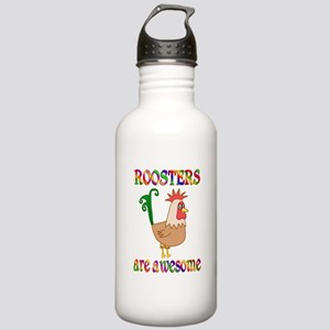 Awesome Roosters Stainless Water Bottle 1.0L