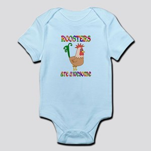 Awesome Roosters Infant Bodysuit