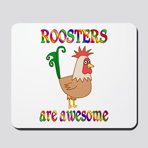 Awesome Roosters Mousepad