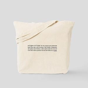 Skeptics11 Tote Bag