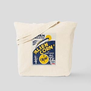 Alien Corn WPA Poster Tote Bag