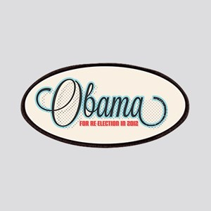 Obama 2012 Halftone Patches