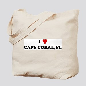 I Love Cape Coral Tote Bag