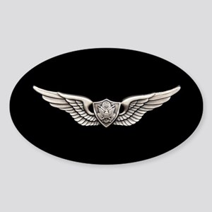 Aviation Crew Member Sticker (Oval)