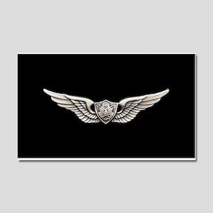 Aviation Crew Member Car Magnet 20 x 12