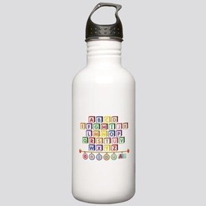 ABC Blocks Stainless Water Bottle 1.0L