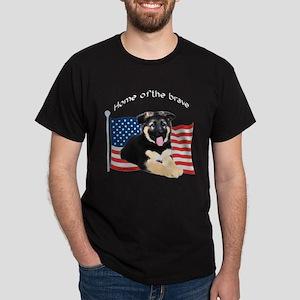 GSD 8 Black T-Shirt