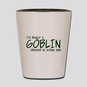I'm Really a Goblin Shot Glass