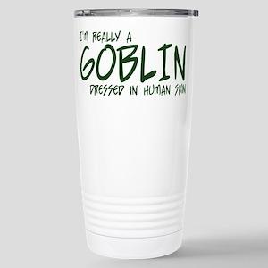 I'm Really a Goblin Stainless Steel Travel Mug