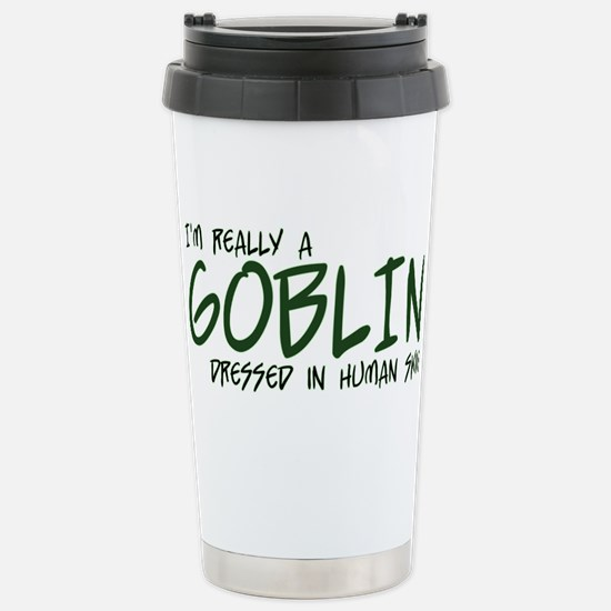 I'm Really a Goblin Stainless Steel Travel Mug