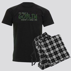 I'm Really a Goblin Men's Dark Pajamas