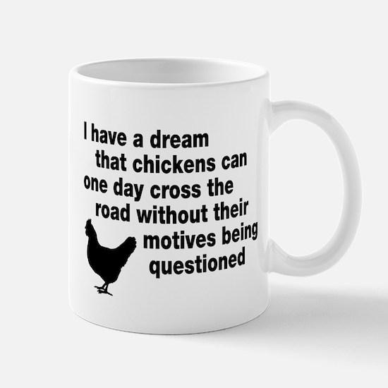 Chickens Motives Mug