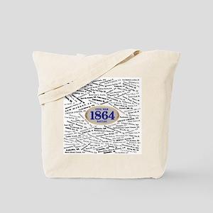 1864 Civil War Battles Tote Bag