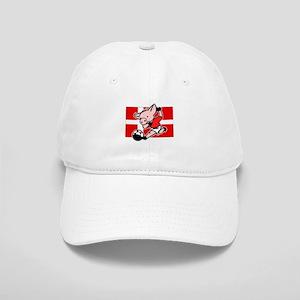 Denmark Soccer Pigs Cap