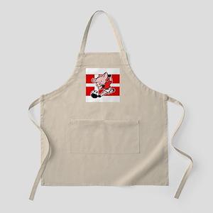 Denmark Soccer Pigs BBQ Apron