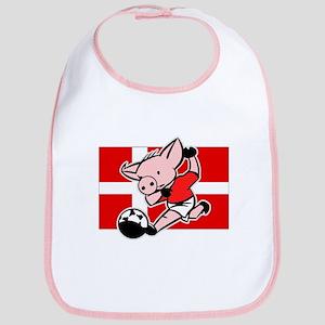 Denmark Soccer Pigs Bib