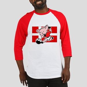 Denmark Soccer Pigs Baseball Jersey