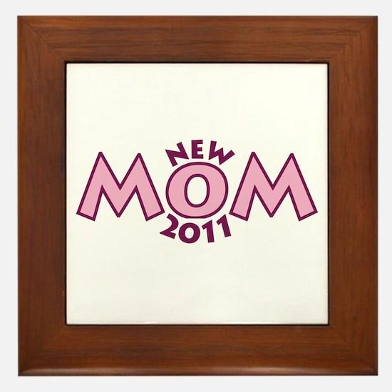 New Mom 2011 Framed Tile