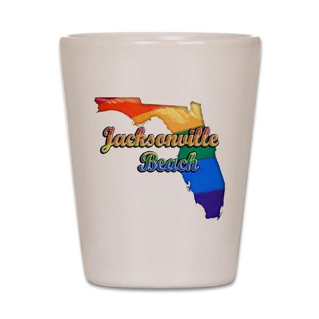 Jacksonville Beach, Florida, Pride, Shot Glass