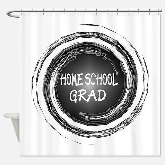 Home School Grad Shower Curtain