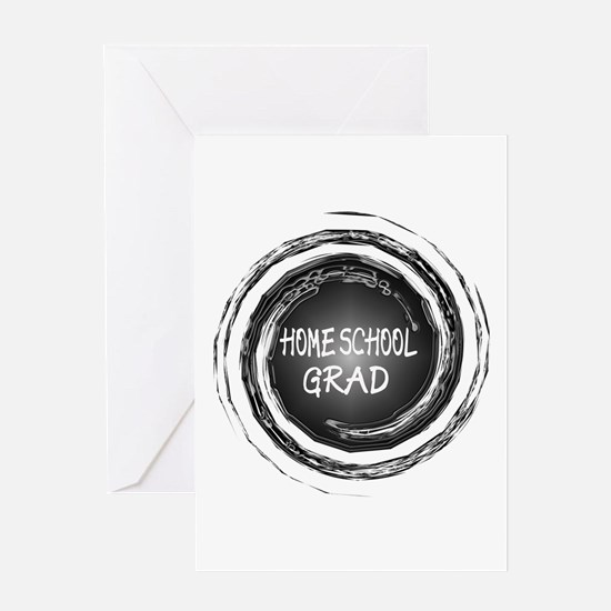Home School Grad Greeting Card