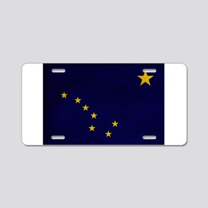 Alaska Flag Aluminum License Plate