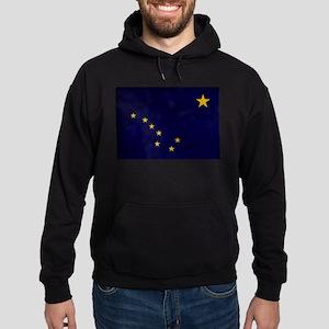 Alaska Flag Hoodie (dark)
