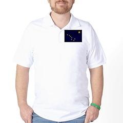 Alaska Flag Golf Shirt