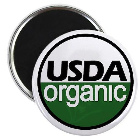 USDA Certified Organic Magnet